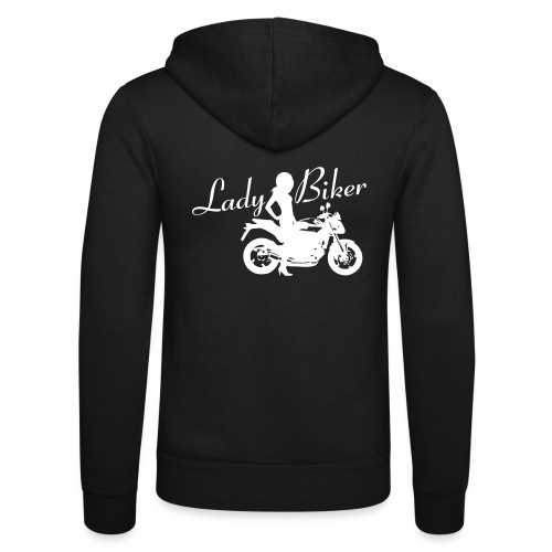 Lady Biker - Naked bike - Unisex Bella + Canvas -hupputakki