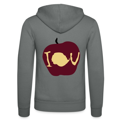 IOU (Sherlock) - Unisex Hooded Jacket by Bella + Canvas