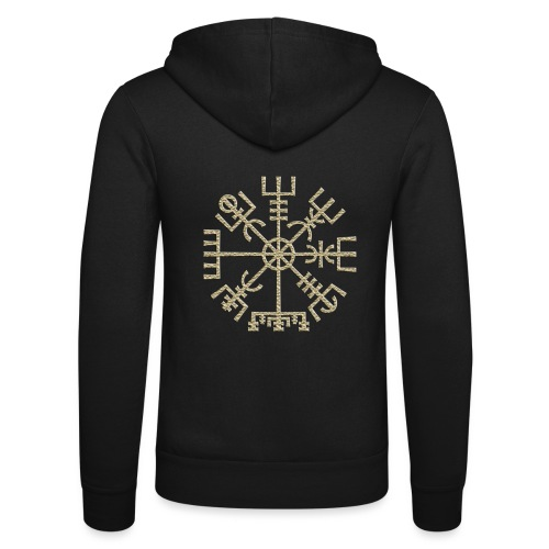 Vegvisir-The-Runic-Viking or - Veste à capuche unisexe Bella + Canvas