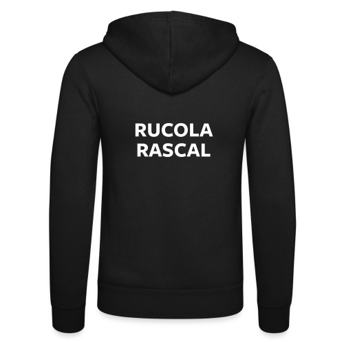Rucola Rascal Night Mode - Unisex Hooded Jacket by Bella + Canvas