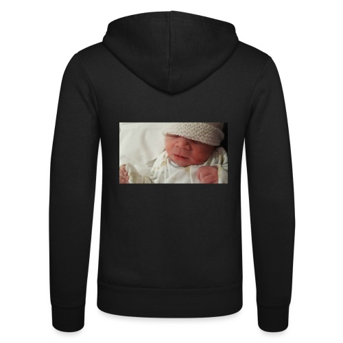 baby brother - Unisex Hooded Jacket by Bella + Canvas