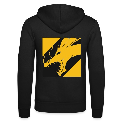 Dragon Yellow - Unisex hoodie van Bella + Canvas