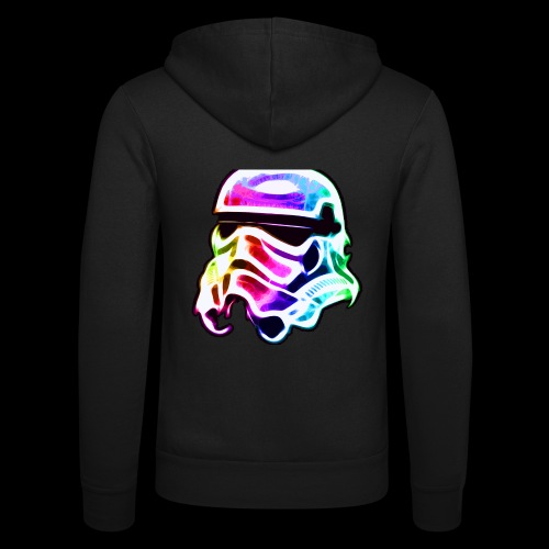 Rainbow Stormtrooper - Unisex Hooded Jacket by Bella + Canvas