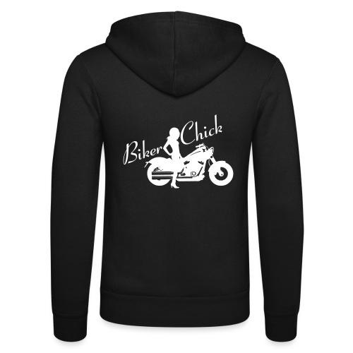 Biker Chick - Custom bike - Unisex Bella + Canvas -hupputakki