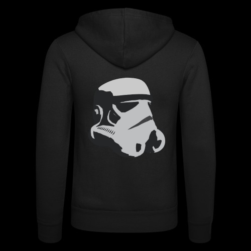 Stormtrooper Helmet - Unisex Hooded Jacket by Bella + Canvas