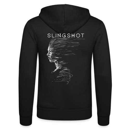 Slingshot with title - Unisex Hooded Jacket by Bella + Canvas
