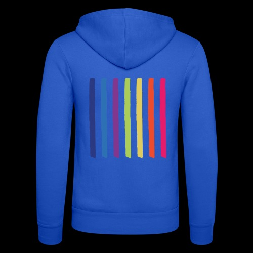 Lines - Unisex Hooded Jacket by Bella + Canvas
