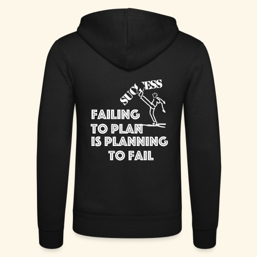 Designed T-Shirt failing to plan brings to fail - Felpa con cappuccio di Bella + Canvas