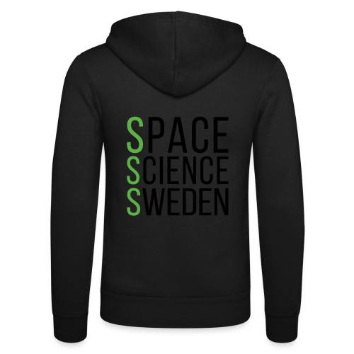 Space Science Sweden - svart - Luvjacka unisex från Bella + Canvas