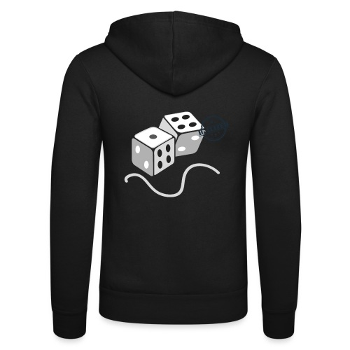 Dice - Symbols of Happiness - Unisex Hooded Jacket by Bella + Canvas