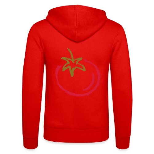 tomato 1000points - Unisex Hooded Jacket by Bella + Canvas