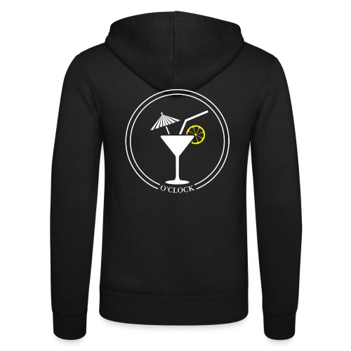 Cocktail o'clock - Unisex Hooded Jacket by Bella + Canvas