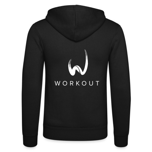 Workout - Unisex Kapuzenjacke von Bella + Canvas