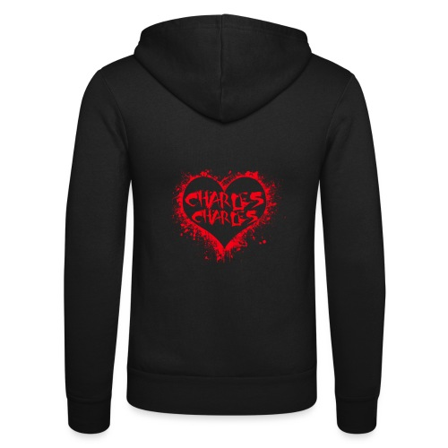 CHARLES CHARLES VALENTINES PRINT - LIMITED EDITION - Unisex Hooded Jacket by Bella + Canvas