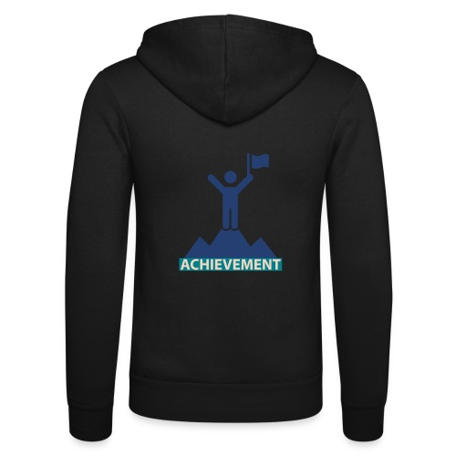 Typo Achivement by CloudMonde - Unisex Hooded Jacket by Bella + Canvas