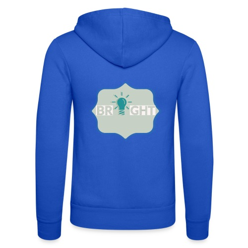 bright - Unisex Hooded Jacket by Bella + Canvas