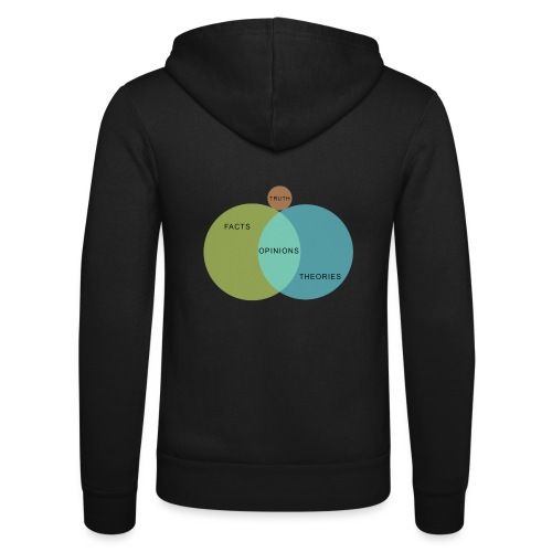 Ven Diagram Truth - Unisex Hooded Jacket by Bella + Canvas
