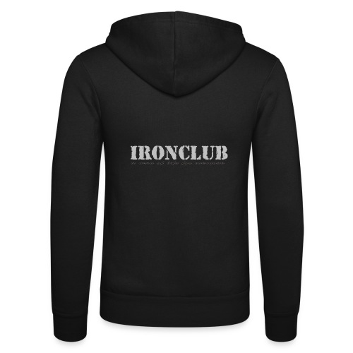 IRONCLUB - a way of life for everyone - Unisex-hettejakke fra Bella + Canvas