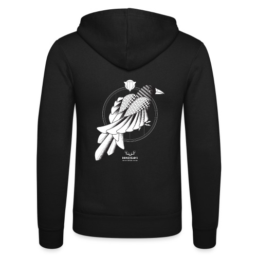 The Crow - Unisex Hooded Jacket by Bella + Canvas