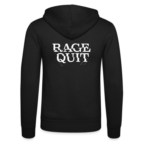 Rage Quit - Unisex Hooded Jacket by Bella + Canvas