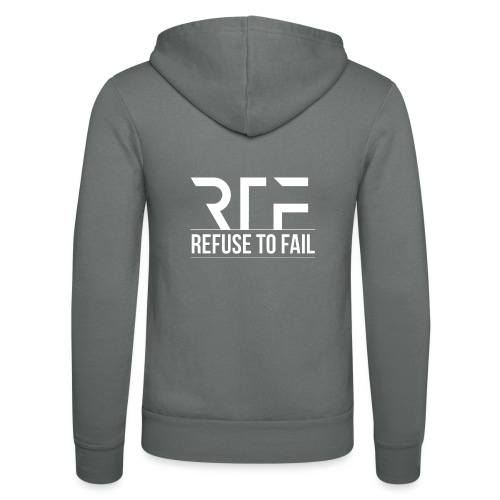 Refuse To Fail - Unisex Hooded Jacket by Bella + Canvas