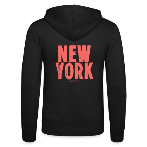 NEW YORK - Unisex Kapuzenjacke von Bella + Canvas