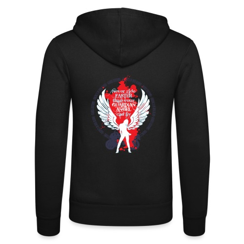 Kabes Guardian Angel T-Shirt - Unisex Hooded Jacket by Bella + Canvas