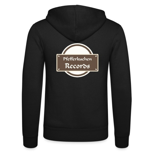 Pfefferkuchen Records Label - Unisex Kapuzenjacke von Bella + Canvas