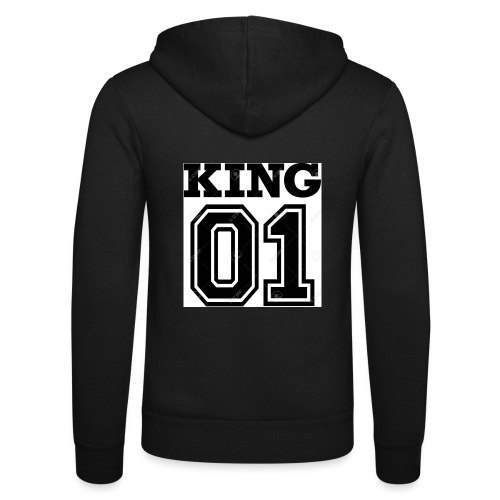 King 01 - Veste à capuche unisexe Bella + Canvas