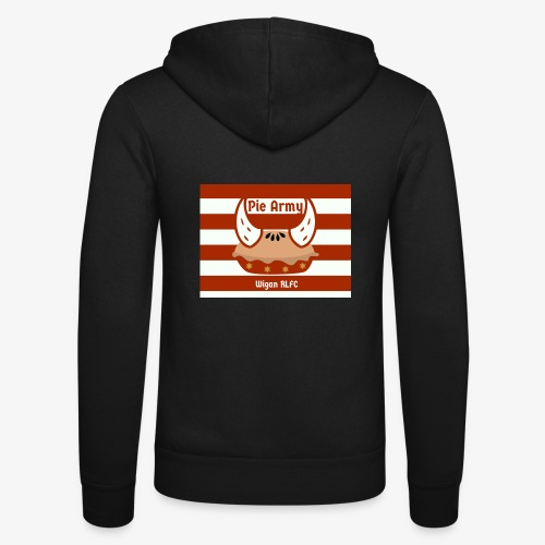 Pie Army - Unisex Hooded Jacket by Bella + Canvas