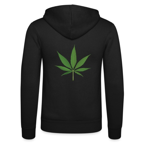Weed - Unisex Hooded Jacket by Bella + Canvas