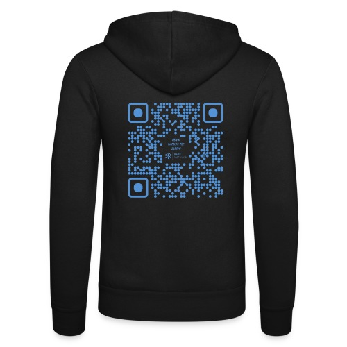 QR The New Internet Shouldn t Be Blockchain Based - Unisex Hooded Jacket by Bella + Canvas