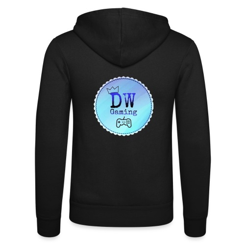 dw logo - Unisex Hooded Jacket by Bella + Canvas