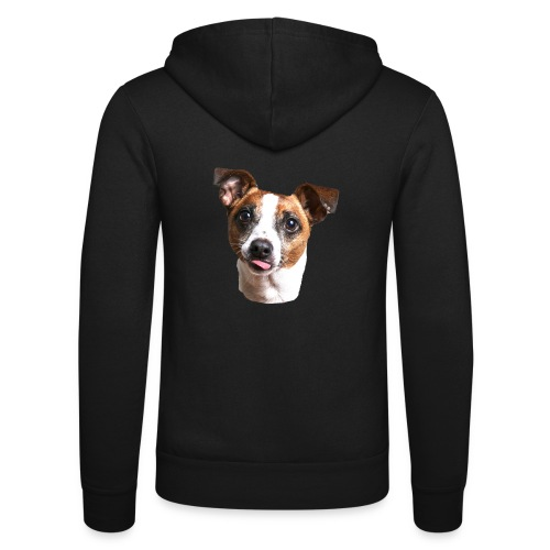Jack Russell - Unisex Hooded Jacket by Bella + Canvas