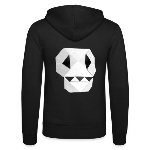 Origami Skull - Skull Origami - Calavera - Teschio - Unisex Hooded Jacket by Bella + Canvas