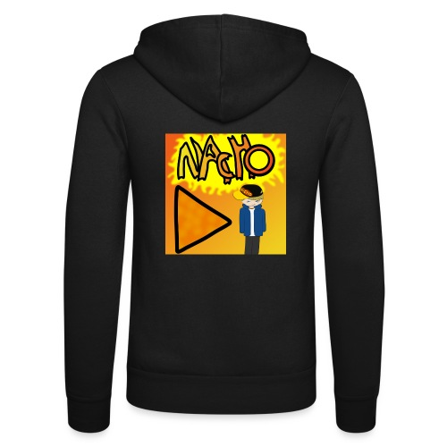 Nacho Title with Little guy - Unisex Hooded Jacket by Bella + Canvas