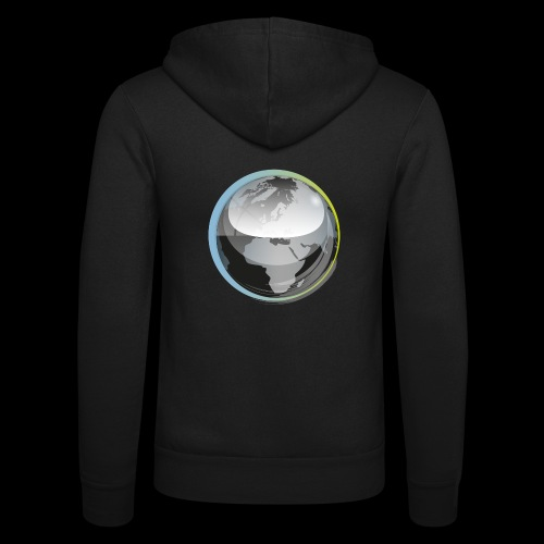 beeldmerk puretrance transparant png - Unisex Hooded Jacket by Bella + Canvas