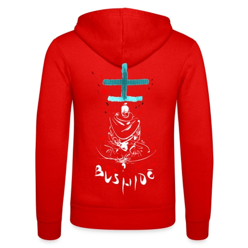 Bushido - Der Weg des Kriegers - Unisex Hooded Jacket by Bella + Canvas