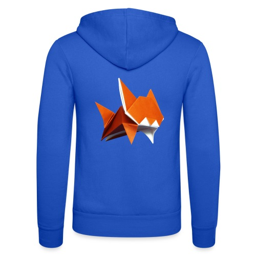 Jumping Cat Origami - Cat - Gato - Katze - Gatto - Unisex Hooded Jacket by Bella + Canvas