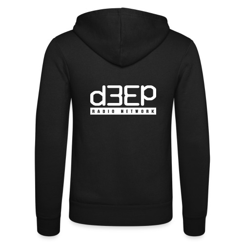 d3ep full white png - Unisex Hooded Jacket by Bella + Canvas