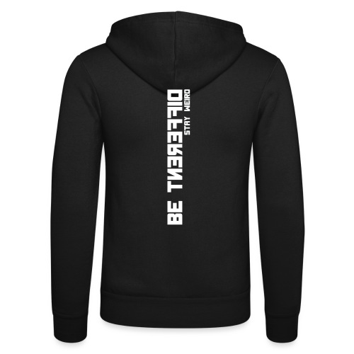 Be Different Stay Weird - Diskretes T-Shirt - Unisex Kapuzenjacke von Bella + Canvas