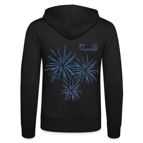 Global Fireworks Pyro - Unisex Kapuzenjacke von Bella + Canvas