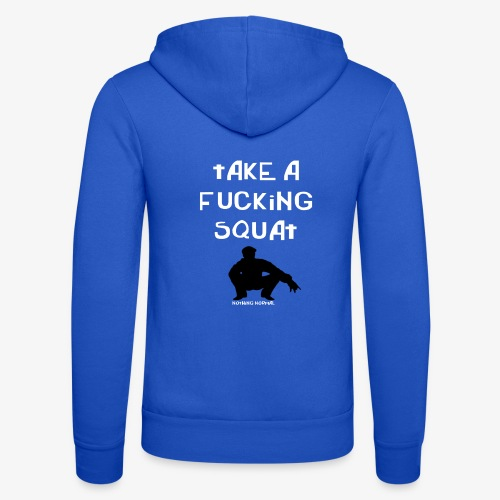 ''Take a squat'' Women's hoodie - Unisex Hooded Jacket by Bella + Canvas