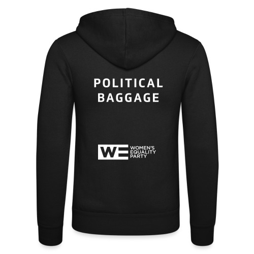 Political Baggage - Unisex Hooded Jacket by Bella + Canvas