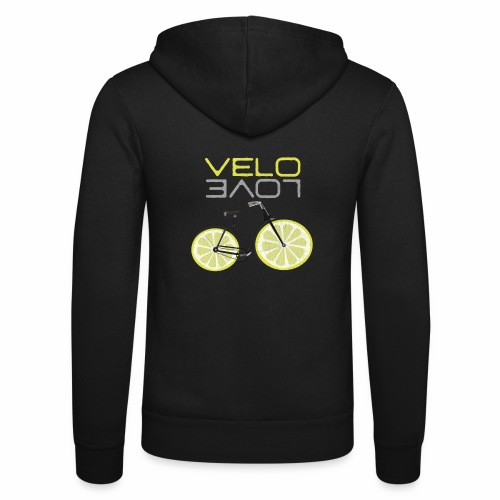 Lemon Bike Shirt Velo Love Shirt Radfahrer Shirt - Unisex Kapuzenjacke von Bella + Canvas