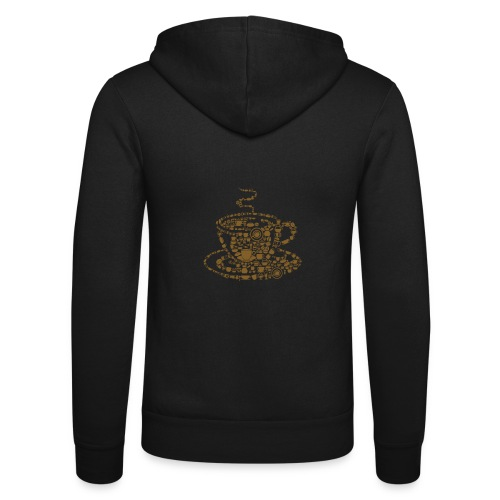 Cup of Coffee - Unisex Kapuzenjacke von Bella + Canvas