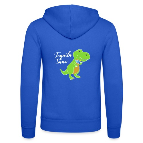 Tequila sour - dinosaur - Unisex Hooded Jacket by Bella + Canvas