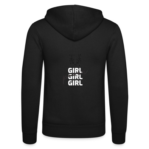 girl power t shirt design - Nuestra chaqueta con capucha de Bella + Canvas