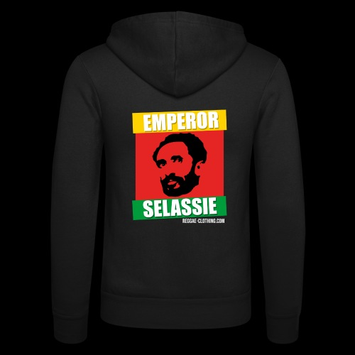 EMPORER SELASSIE red gold green - Unisex Kapuzenjacke von Bella + Canvas