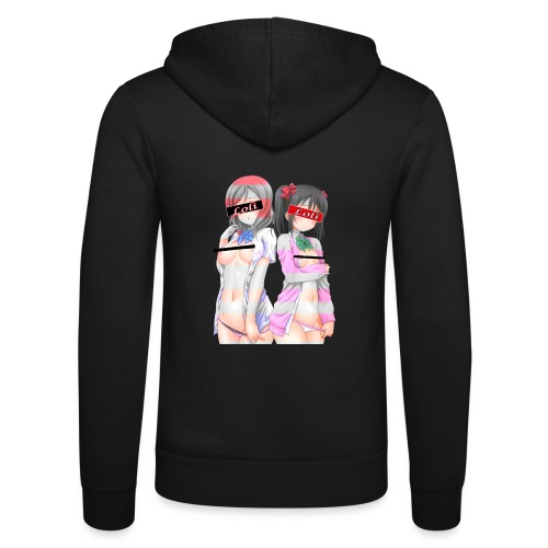 Love Live Maki Nico Kawaiii Undresing Ero - Unisex Hooded Jacket by Bella + Canvas